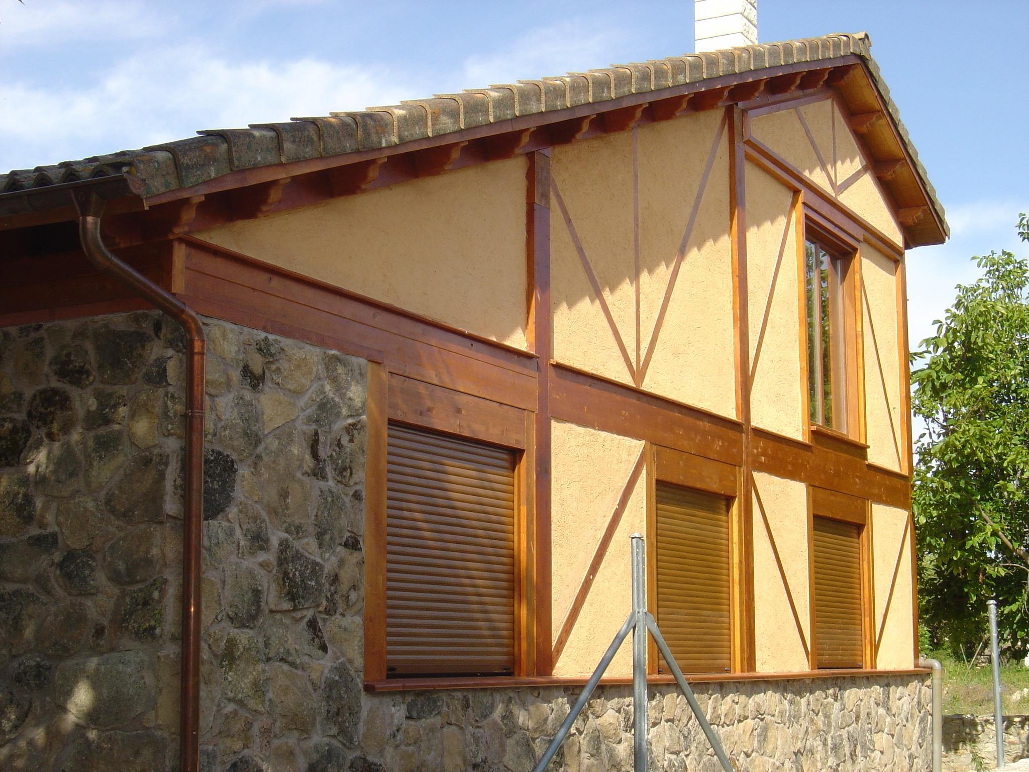 Casas de madera palos en danza - Casas de madera de lujo en espana ...