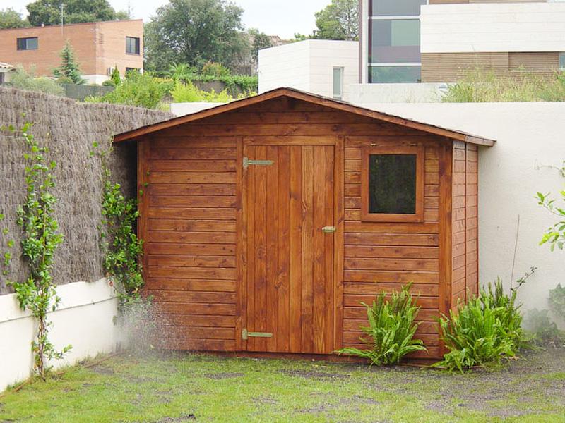 Casetas para jardin caseta metlica para jardn dallas m - Casetas de jardin leroy ...